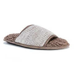 MUK LUKS Men's Andy Sweater Slide Slippers