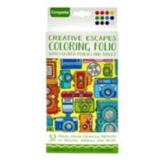 Crayola Creative Escapes Coloring Travel Folio