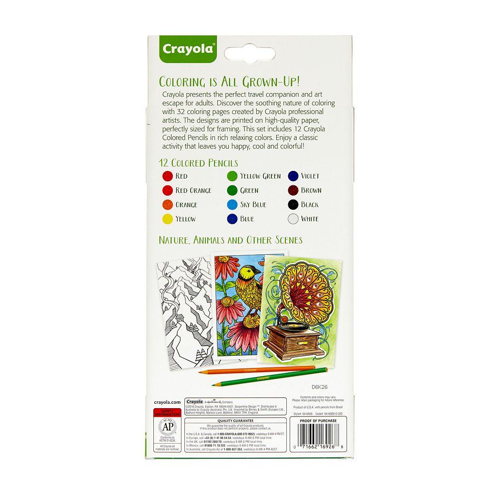 Crayola Creative Escapes Coloring Travel Folio
