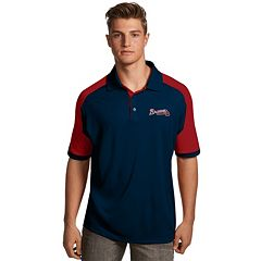 Men's Antigua Atlanta Braves Century Polo