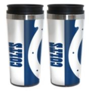 Indianapolis Colts 2-Pack Hype Travel Tumblers