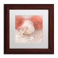 Trademark Fine Art Hibiscus IV Matted Framed Wall Art