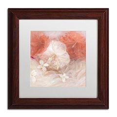 Trademark Fine Art Hibiscus IV Matted Framed Wall Art