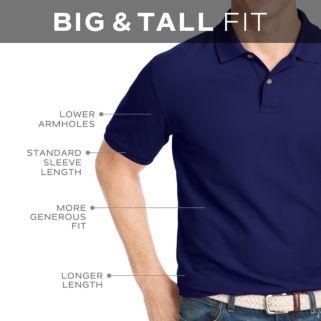 Big & Tall IZOD Advantage Classic-Fit Performance Polo