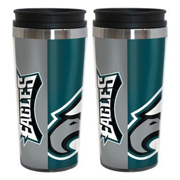 Philadelphia Eagles 2-Pack Hype Travel Tumblers
