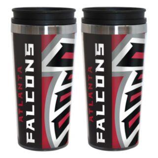 Atlanta Falcons 2-Pack Hype Travel Tumblers