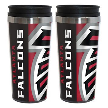 Atlanta Falcons 2-Pack Hype Travel Tumblers