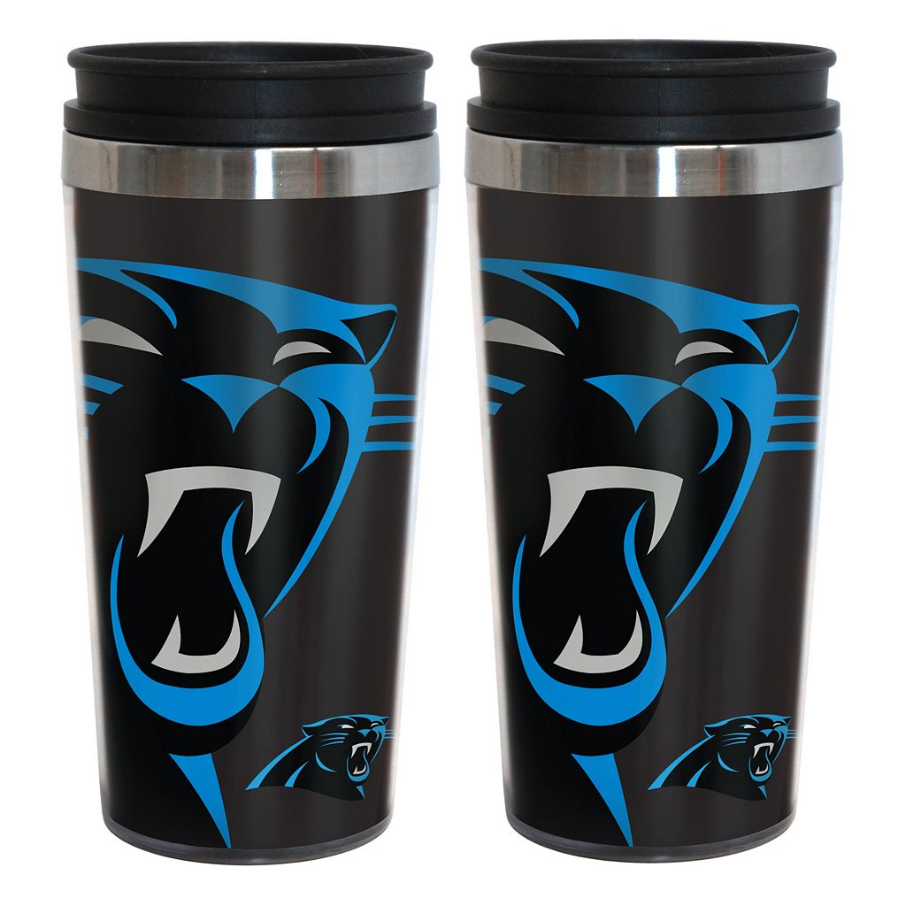 Carolina Panthers 2-Pack Hype Travel Tumblers