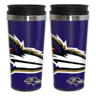 Baltimore Ravens 2-Pack Hype Travel Tumblers