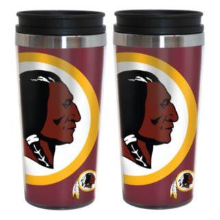 Washington Redskins 2-Pack Hype Travel Tumblers