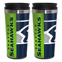 Seattle Seahawks 2-Pack Hype Travel Tumblers