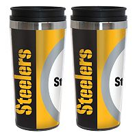 Pittsburgh Steelers 2-Pack Hype Travel Tumblers