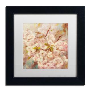 Trademark Fine Art Rose Bush I Matted Framed Wall Art