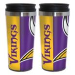 Minnesota Vikings 2-Pack Hype Travel Tumblers