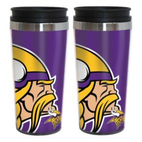 Minnesota Vikings 2-Pack Hype Travel Tumblers