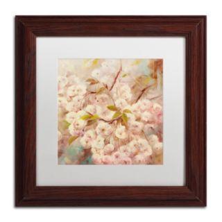 Trademark Fine Art Rose Bush I Framed Wall Art