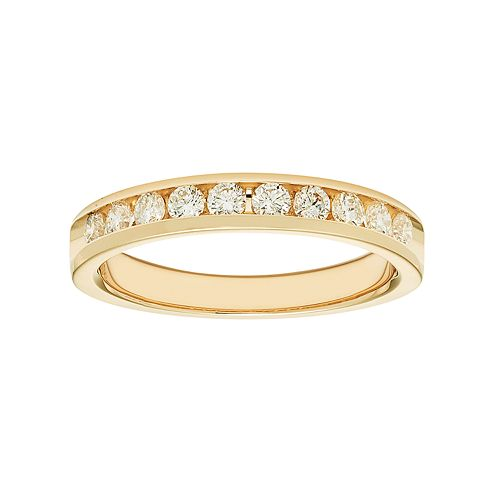 14k Gold 1/2 Carat T.W. Diamond Anniversary Ring