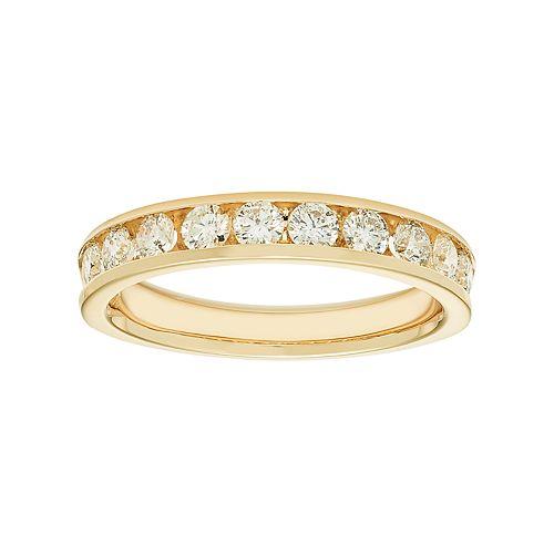 14k Gold 3/4 Carat T.W. Diamond Anniversary Ring
