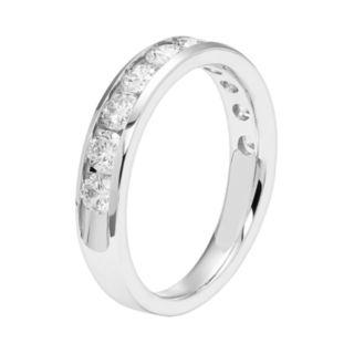 14k Gold 1 Carat T.W. Diamond Anniversary Ring