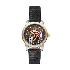 Disney's Alice in Wonderland Queen of Hearts Women's Leather Watch