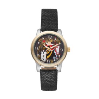Disney's Alice in Wonderland Queen of Hearts Women's Leather Watch