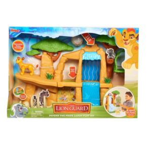 Disney's Just Play The Lion Guard  Defend the Pride Lands Playset