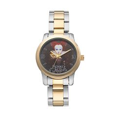 Disney's Alice Through the Looking Glass Red Queen Women's Two Tone Stainless Steel Watch