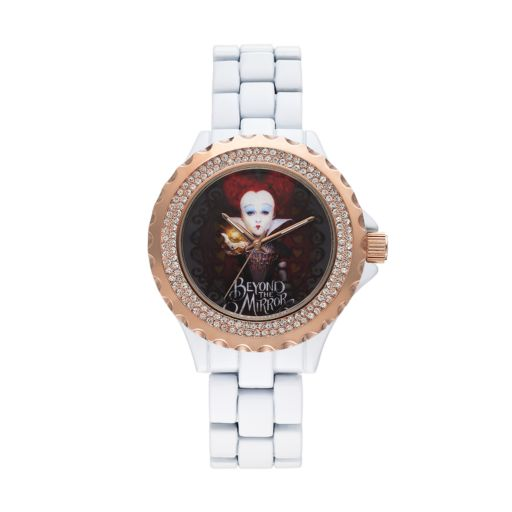 Disney's Alice Through the Looking Glass Red Queen Women's Crystal Watch