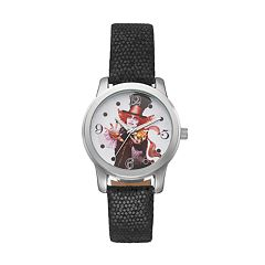 Disney's Alice Through the Looking Glass Mad Hatter Women's Leather Watch