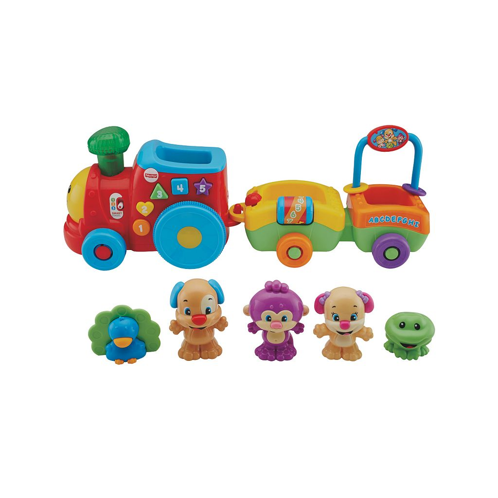 Fisher-Price Laugh & Learn Smart Stages Puppy & Pals Train Gift Set