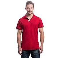 Men's Lee Classic-Fit American Flag Polo