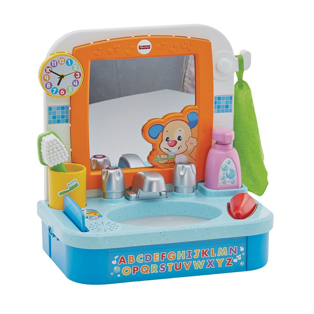 Fisher-Price Laugh & Learn Let's Get Ready Sink