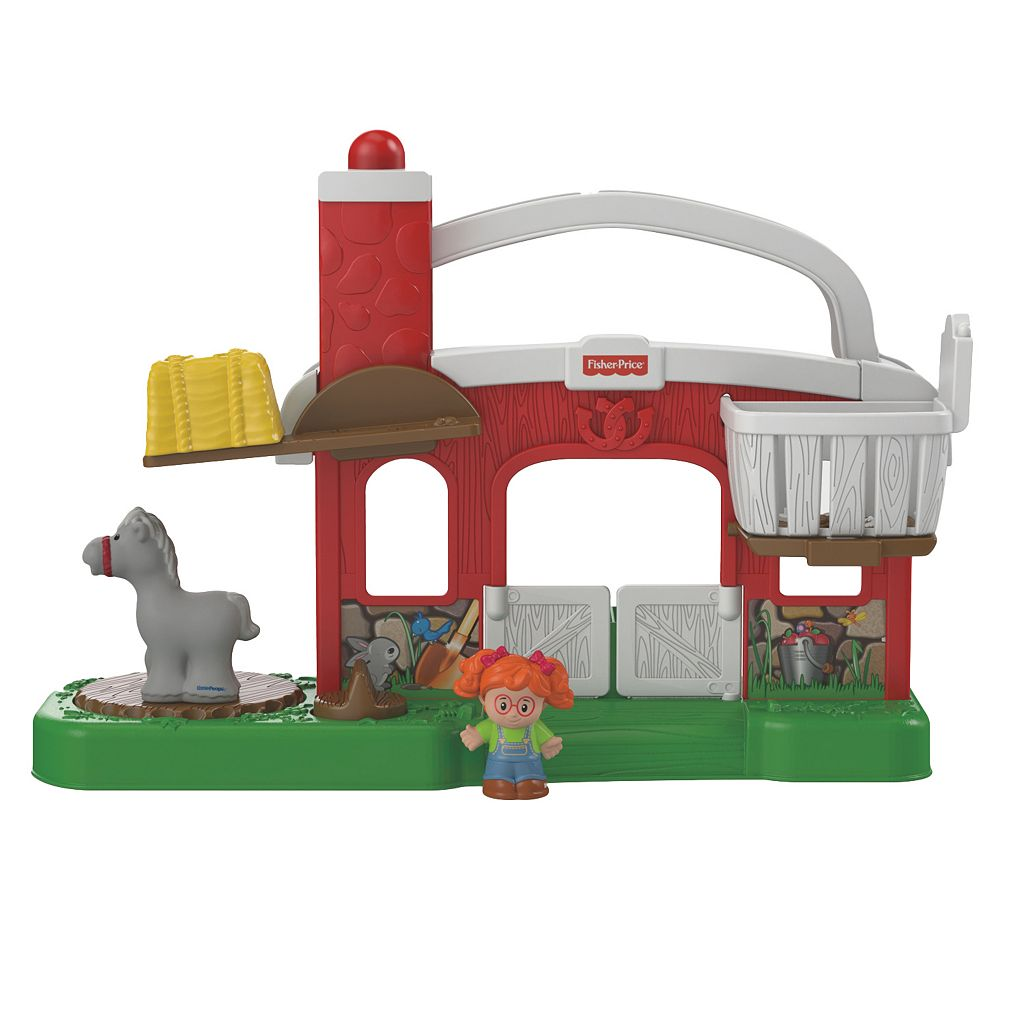 Fisher-Price Little People Hay Stackin' Stable Set
