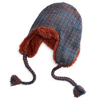 Women's MUK LUKS Lurex Braided Trapper Hat