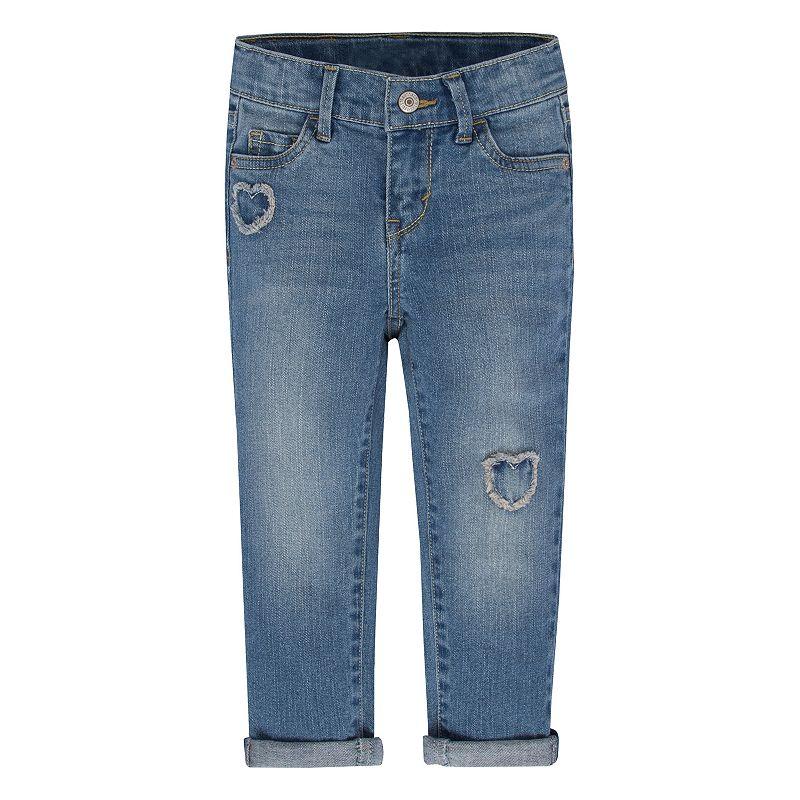 Toddler Girl Levi's Stargazer Skinny Jeans, Size: 2T, Light Blue