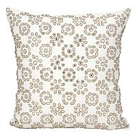 Mina Victory Couture Luster Shimmer Starshine Throw Pillow