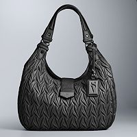 Simply Vera Vera Wang Tailor Large Hobo