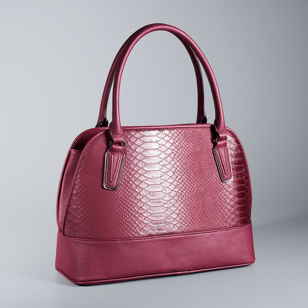Simply Vera Vera Wang Tailor Dome Satchel
