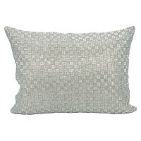 Mina Victory Couture Luster Woven Oblong Throw Pillow