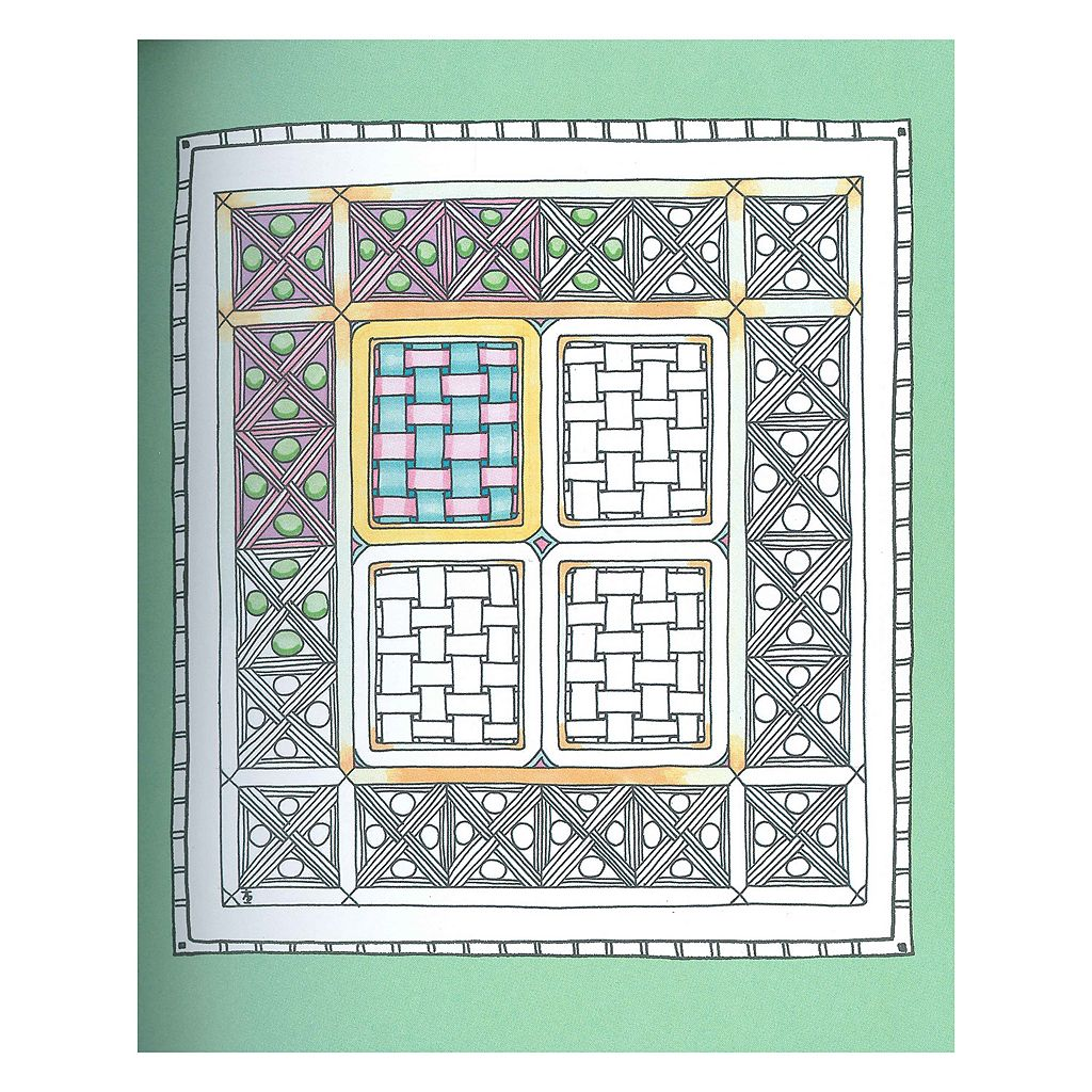 Stress free coloring book - Portable Color Me Stress Free Adult Coloring Book Kit
