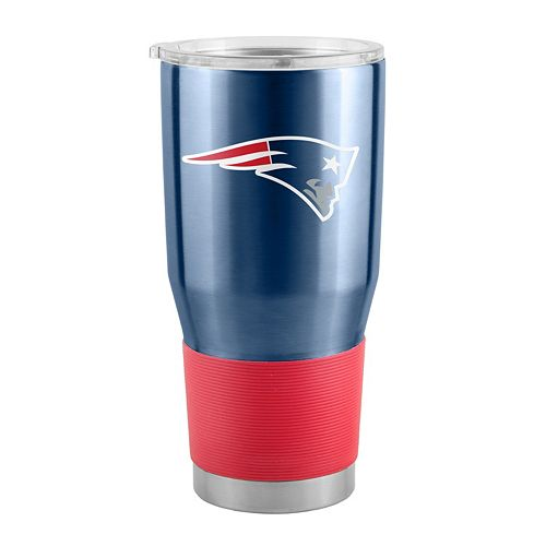 Boelter New England Patriots 30-Ounce Ultra Stainless Steel Tumbler