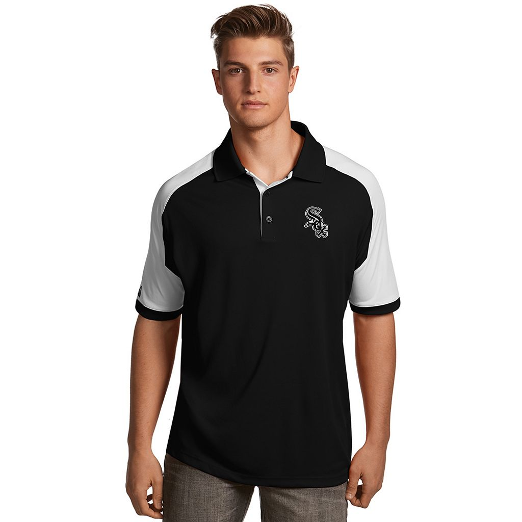 Men's Antigua Chicago White Sox Century Polo