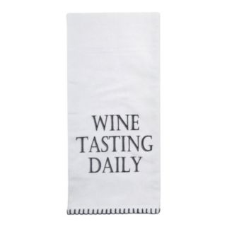 "Park B. Smith ""Wine Tasting Daily"" Kitchen Towel 2-pk."