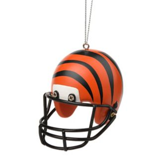 Forever Collectibles Cincinnati Bengals Helmet Christmas Ornament