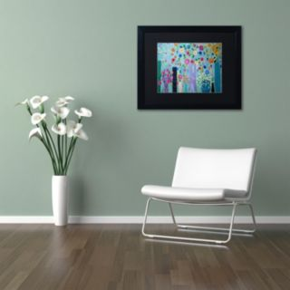 Trademark Fine Art Magical Matted Framed Wall Art