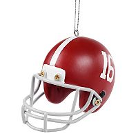 Forever Collectibles Alabama Crimson Tide Helmet Christmas Ornament