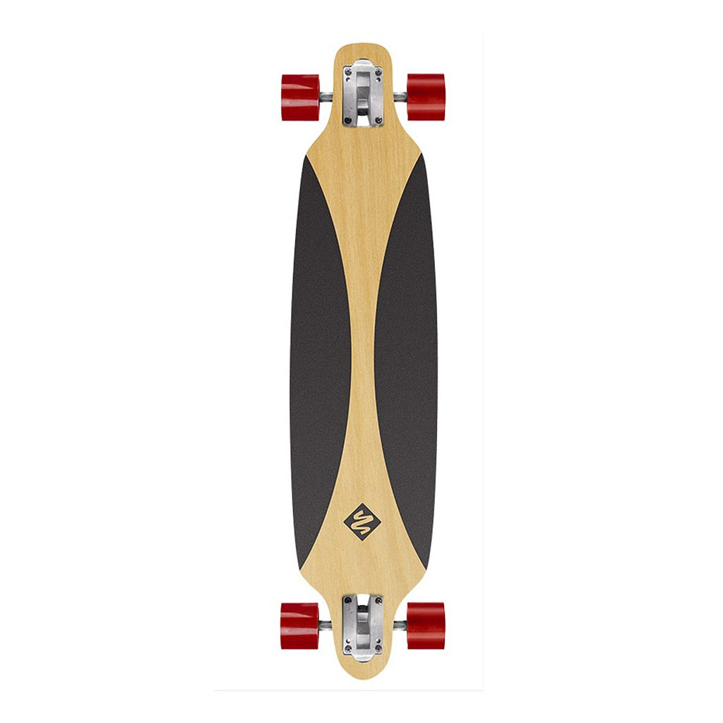 Youth Street Surfing Freeride 39-In. Carving Drop-Through Cruiser Longboard