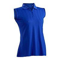 Plus Size Nancy Lopez Grace Sleeveless Golf Polo