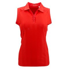 Plus Size Nancy Lopez Grace Sleeveless Golf Polo