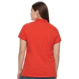 Juniors' Plus Size SO® Uniform Polo Top